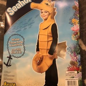 Other - Seahorse Costume-3-4T